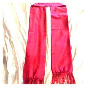 Pink 💞 BeBe fashion silky/Satin Scarf 💗